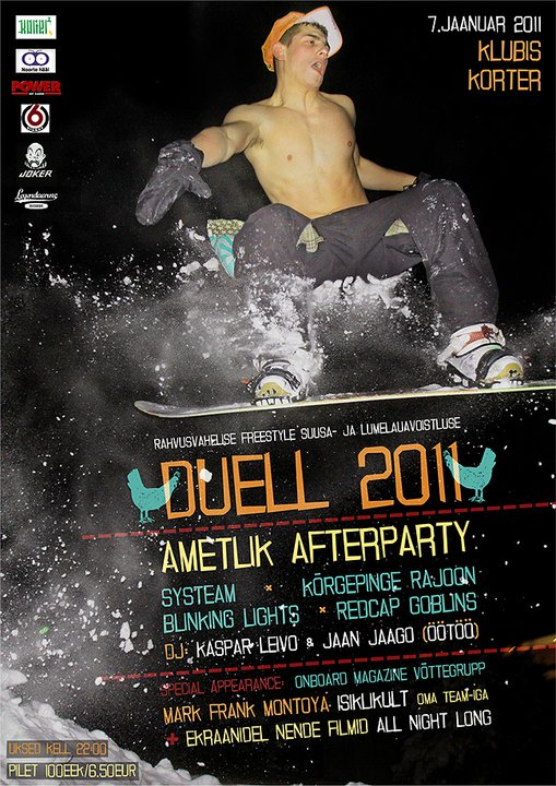 Duell 2011 afterparty