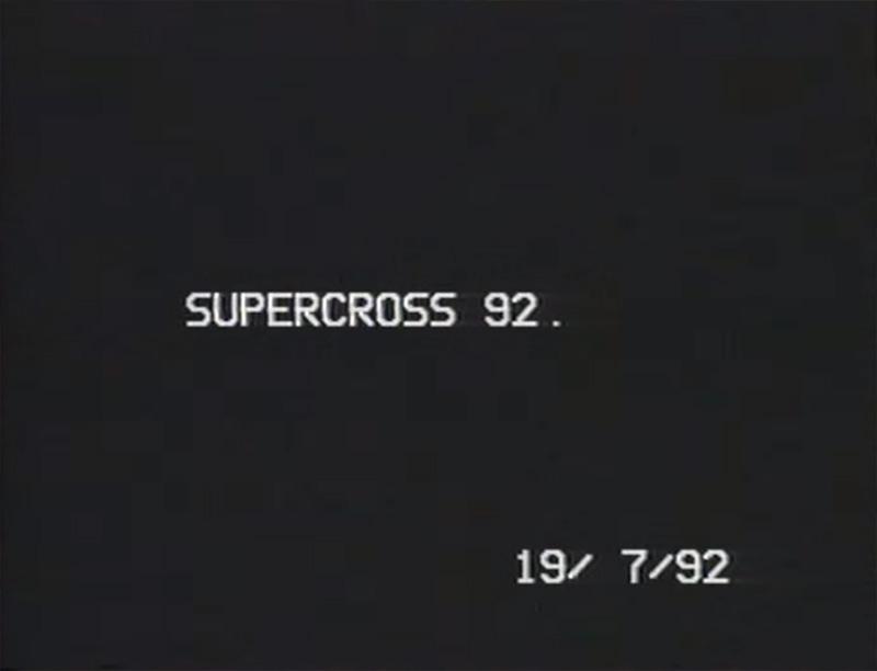 Tahula Supercross 1992